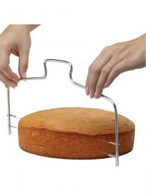 Bread Splitter Double-line Cake Slicer Slice Layered Baking Tools Adjustable Bread-cutter Baking Accessory
