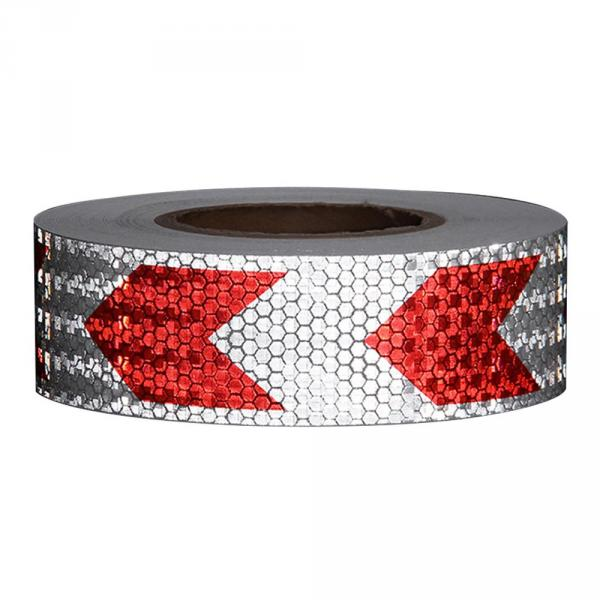 Arrow Safety Warning Conspicuity Reflective Tape Strip Sticker For Automobiles Motorcycle Car-Styling