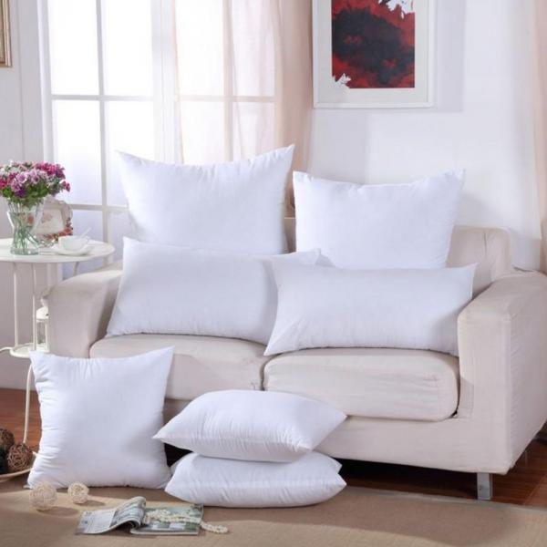 1 Piece Pillow Insert Simple Thick Comfortable Soft Pillow Filling Core